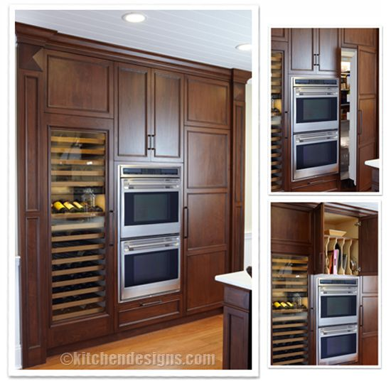 Kitchen Island Refrigerator: 33 Best Images About Traditional Kitchens On Pinterest