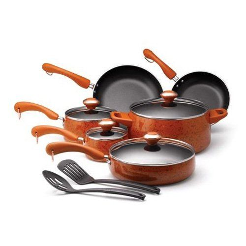 Kitchen Aid Non Stick 14 Piece Cookware Set Awesome Design