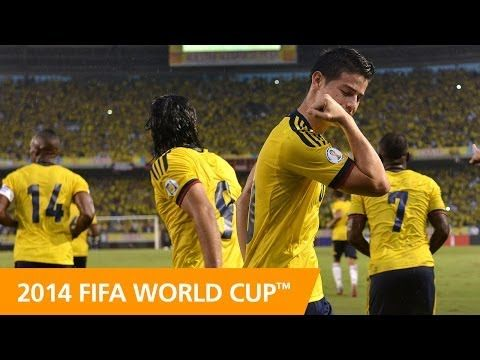 2014 FIFA World Cup Team Profile: COLOMBIA - YouTube
