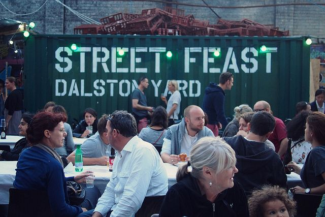 Street Feast, Dalston Yard by What Katie Does, via Flickr
