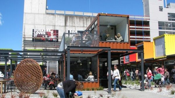 shopping center of the container