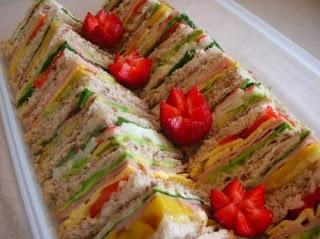 Mixed Sandwich Platter