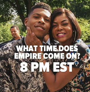 What Time Does Empire Come On?  Wednesday = Empire and everyone is asking:What time does Empire come on? The Empire TV show comes on at 8 PM EST Season 3 will continue to explore Cookie and Lucious' crazy relationship. The last time we saw the pair Lucious was busy ruining Cookie's relationship with Angelo. Lucious is now shooting his shot and trying to win Cookie's heart. Jamal will definitely have something to say/sing about that. He still hates his father.  What Time Does Empire Come On?…