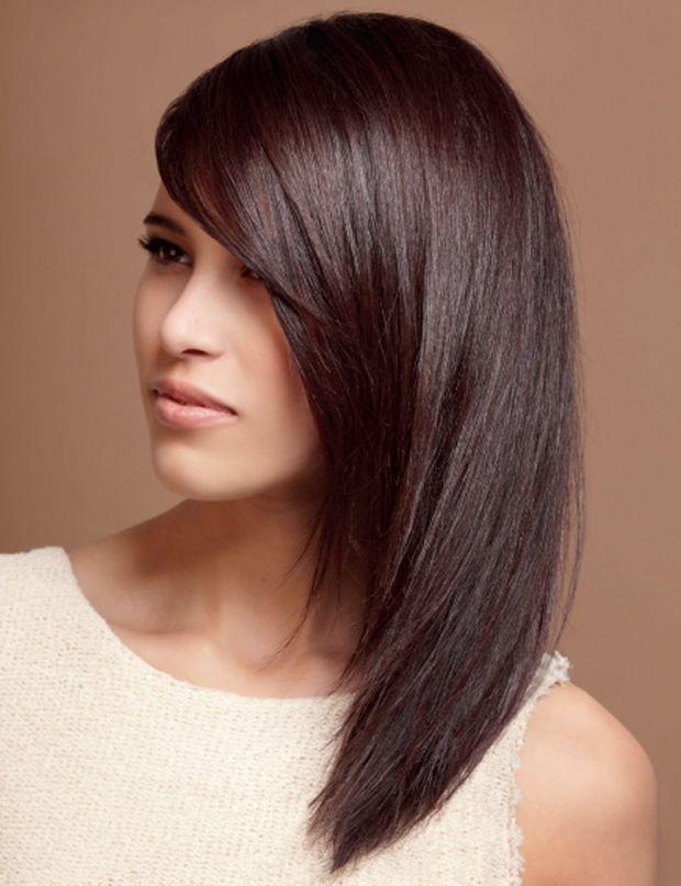 Les 20 meilleures id es de la cat gorie acajou cheveux sur pinterest cheveux acajou teinture - Couleur brun acajou ...