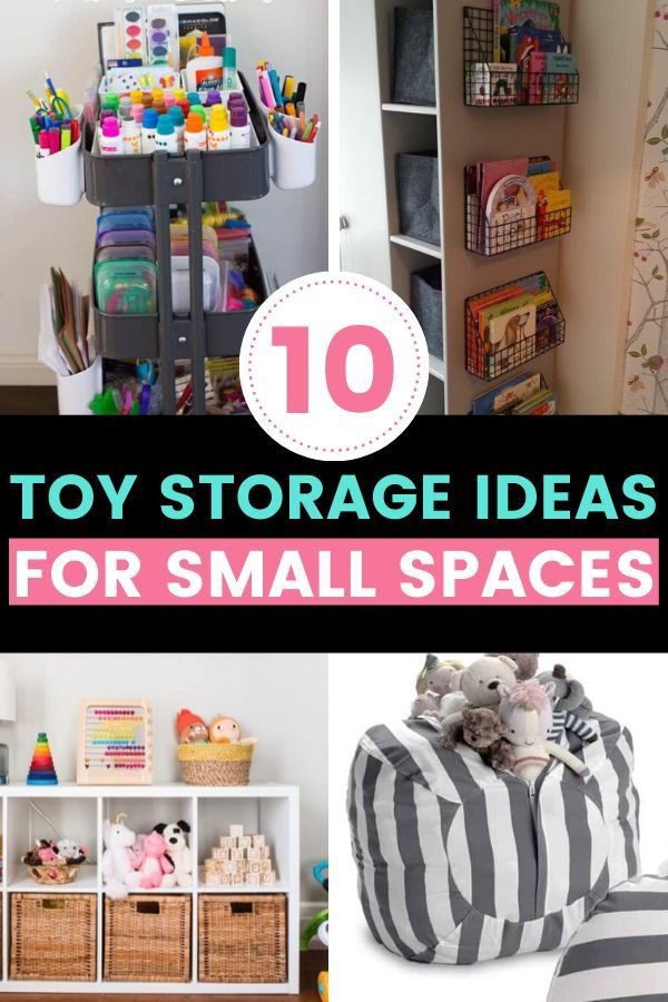 Toy Storage Ideas For Small Spaces Mommyhooding In 2020 Toy Storage Diy Toy Storage Kids Toy Organization