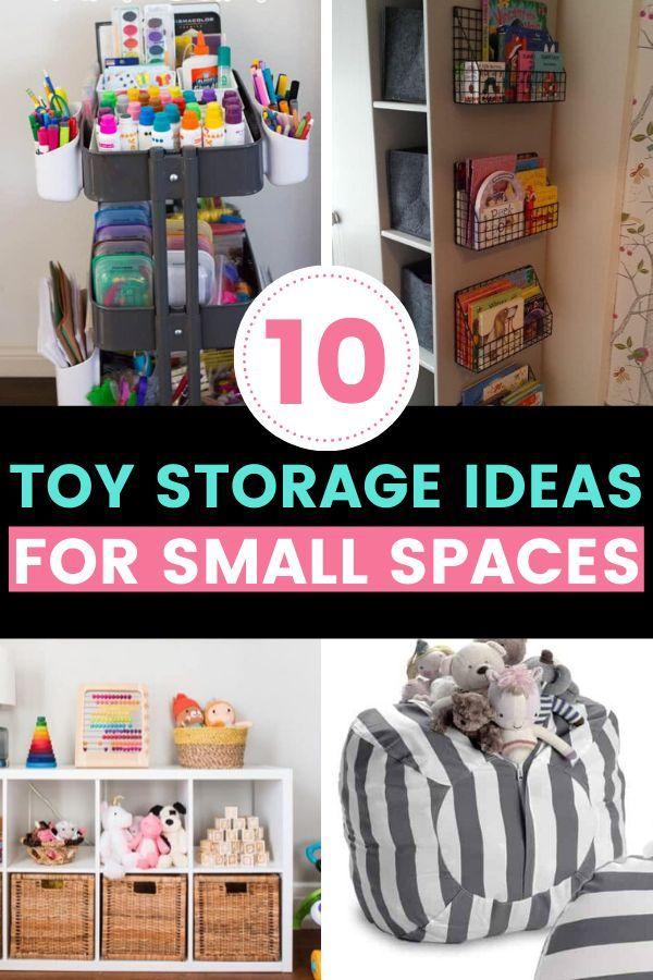 Toy Storage Ideas For Small Spaces In 2020 Toy Storage Diy Toy Storage Kids Toy Organization