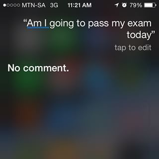 The moment when she knew someone needed to be CALLED OUT: | 21 Questions Siri Answered Absolutely Perfectly