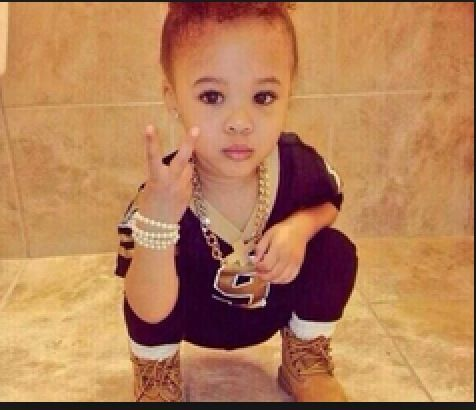 Timberlands for kids... She is so adorable!!