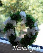 毎年恒例☆紫陽花のリース☆2012年6月