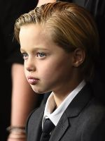 "Angelina Jolie & Brad Pitt Support Shiloh's Wish To Be Called ""John"" #refinery29"