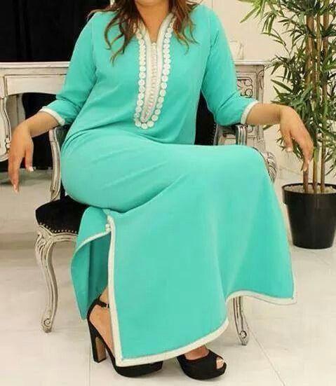 1000 images about djellaba on pinterest belle mauve - Robe de maison simple ...