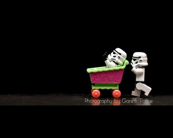 storm troopers...cute