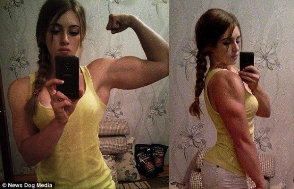 """Meet """"Muscle Barbie"""", Girl With Beauty Of Barbie And Body Of Hulk"""