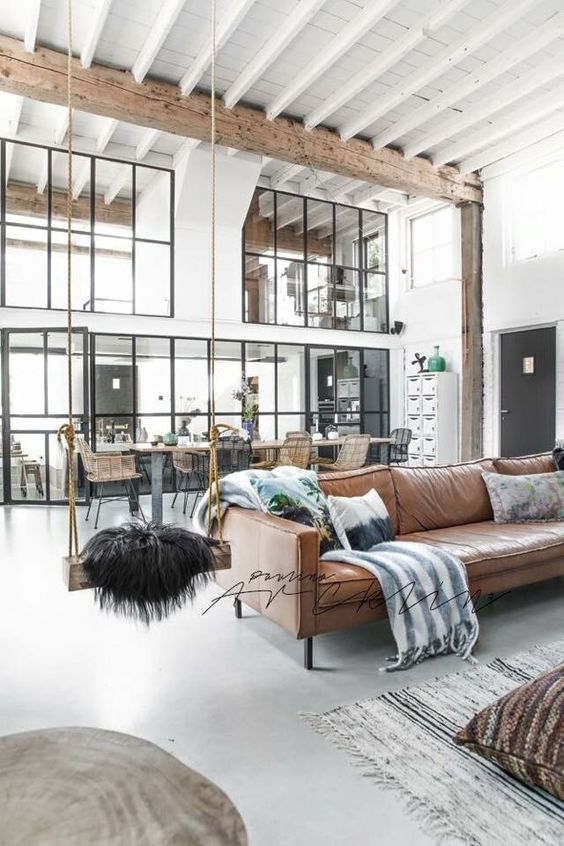 Home Decor and Lifestyle from Hello Lovely Studio:  10 Industrial Farmhouse Decorating Ideas for Your Home.