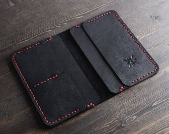 Custom Leather Wallet Men's Leather Wallet Mens by PoshGift