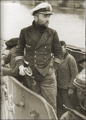 Kapitänleutnant Günther Prien, commander of U 47 - 6 July 1940