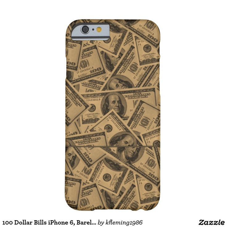 100 Dollar Bills iPhone 6, Barely There Case | Zazzle.com