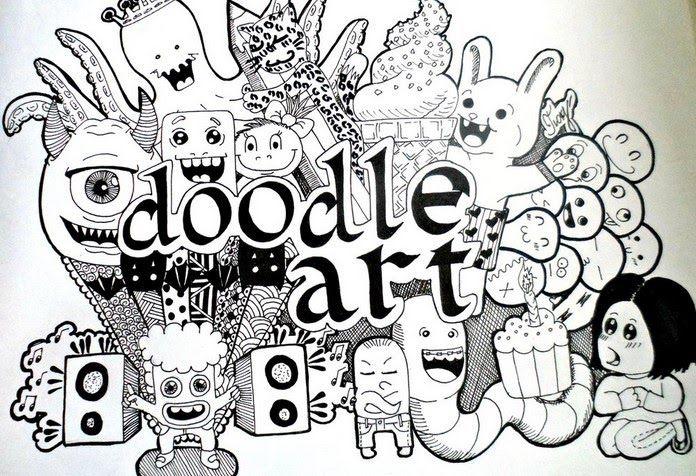 Terbaru 30 Gambar Sketsa Hewan Keren (2020) Doodle