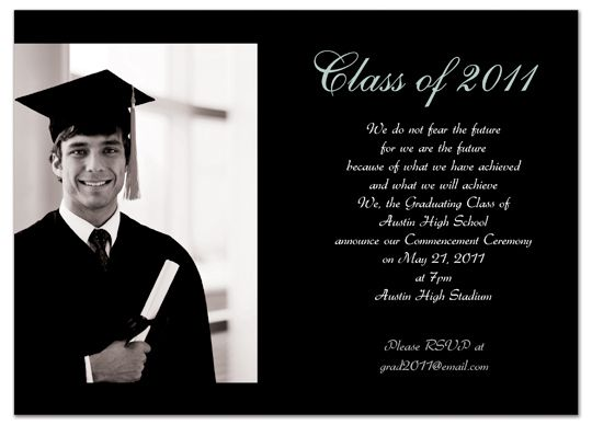 17 Best images about Graduation Invite on Pinterest | Silver plate ...