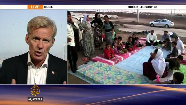 Humanitarian situation in #Iraq 'overwhelming'