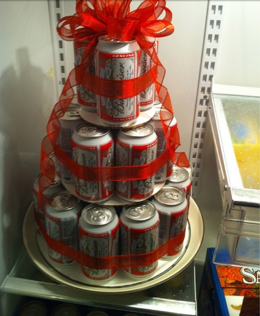 beer cake. Good for guys birthdays