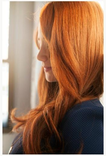 Mooi rood haar!
