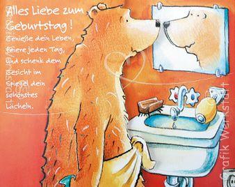 Alles Liebe zum Geburtstag! - Midi Cards - Grafik Werkstatt Bielefeld