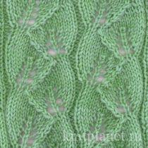 Планета Вязания | Ажурные узоры спицами