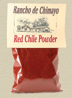 A great source for authentic New Mexico red chili powder!