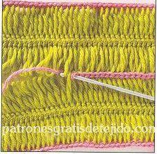 Cómo tejer con horquilla / Tutorial | Crochet y Dos agujas