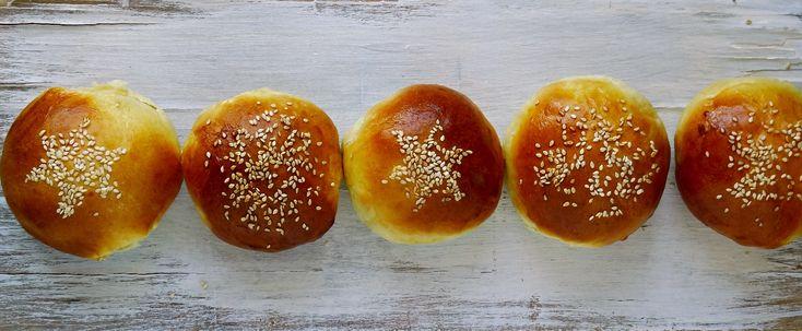 Hamburgerové bulky z domácí pekárny   Coolinářka