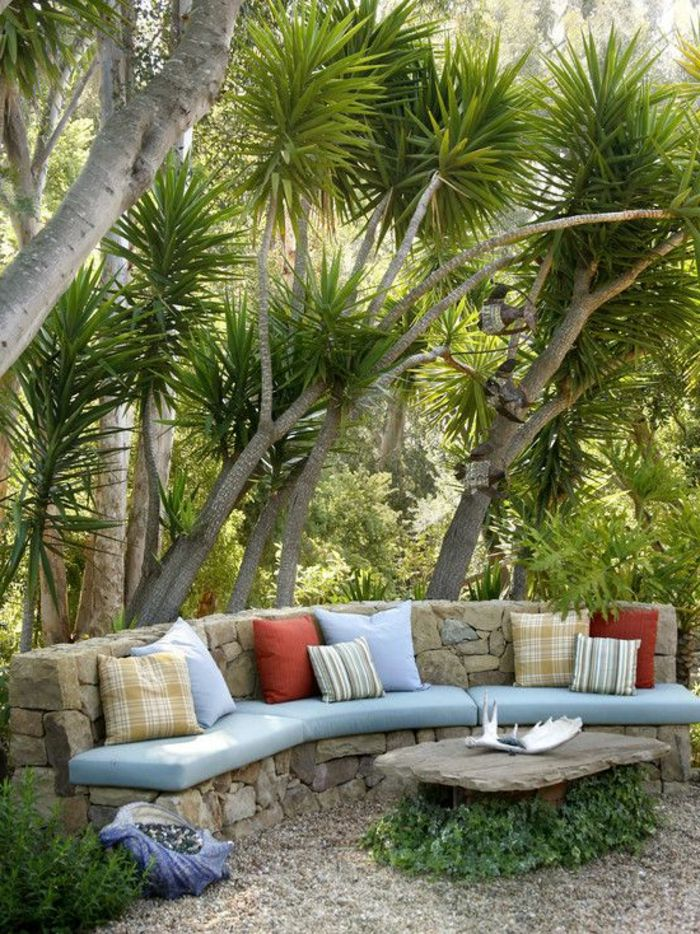25 best ideas about jardin exterieur on pinterest for Terrace seating ideas