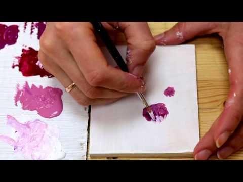 Видео мастер-класс: как нарисовать клевер акриловыми красками - Ярмарка Мастеров - ручная работа, handmade