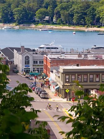 Farm-to-table restaurants and fabulous resorts make Traverse City (and nearby towns) delicious fun.