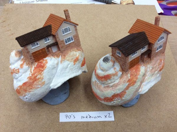Stratasys Multi-Material, Multi-Color 3D Printing Technology Created Realistic Miniature Houses and Shells for Zoopla's 'Crab World' TV Advert (Photo: Business Wire) https://www.photoxels.com/stratasys-3d-printing-zooplas-crab-world/ #3dprintingbusiness