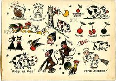 images about tattoos on Pinterest   Sailor jerry tattoos Sailor jerry ...