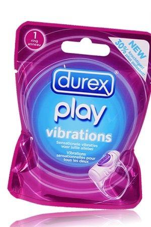Cockring vibrant durex : durex play vibrations