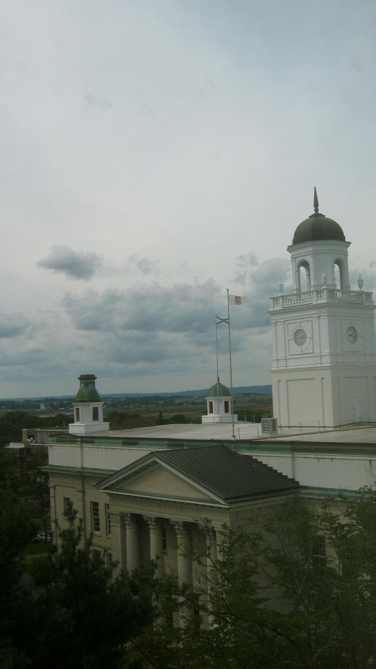 View from Seminary House @ Acadia University, Nova Scotia