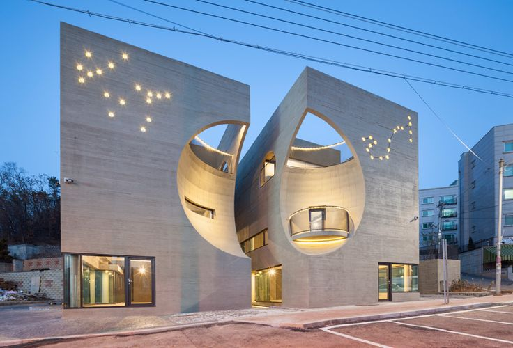 Moon hoon carves spherical void into erotically charged for Moon architecture