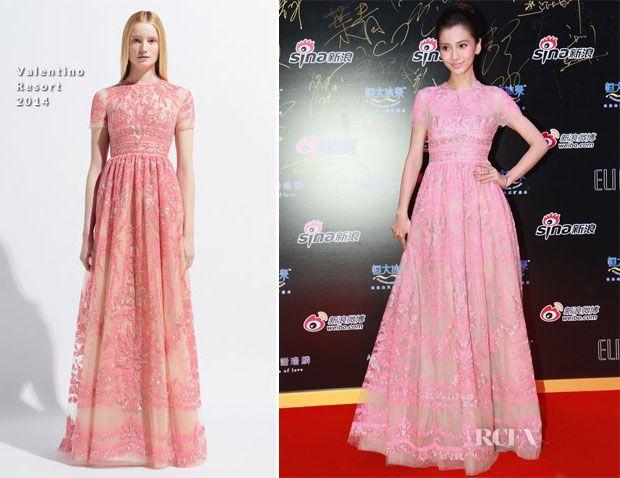 Angelababy In Valentino – Sina Weibo Awards