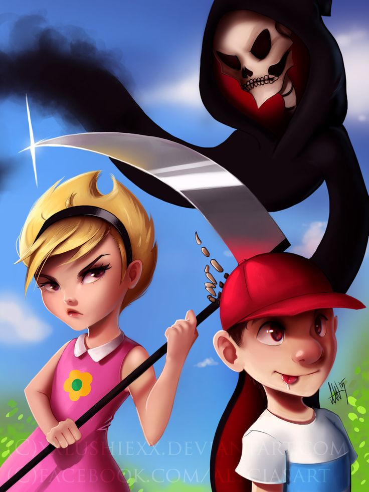 8 Best The Grim Adventures Of Billy And Mandy Images On