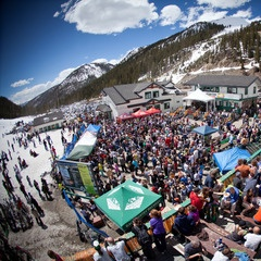 Arapahoe Basin apres, during, before.... whatever, but get your high altitude drink on.....