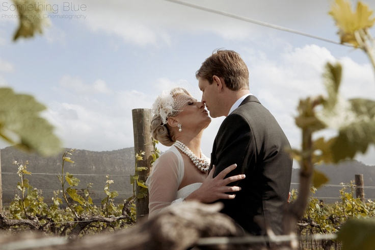 The vineyards are an amazing location for wedding photography. Hunter Valley wedding photography. www.somethingbluephotography.com.au