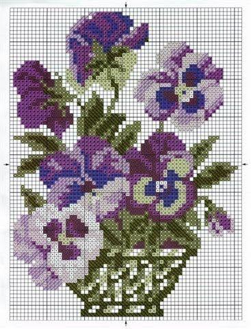 cesto fiori