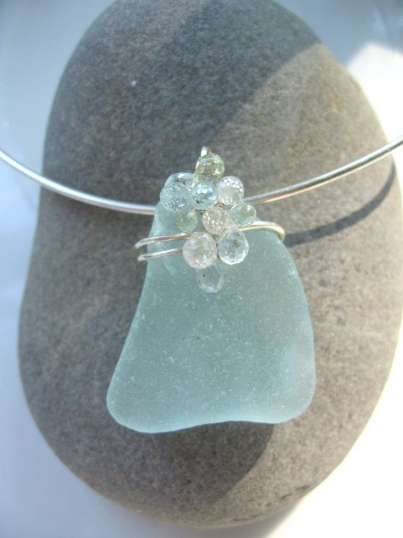 One of the prettiest seaglass pendants I've ever seen!