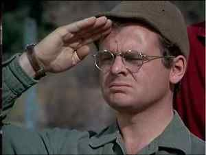 Image is loading RADAR-O-039-REILLY-SALUTING-HENRY-8x10-PHOTO-