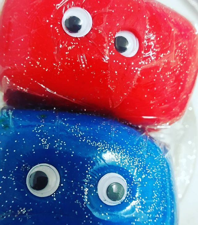 ❤ #dottidough #designerdough #dottiworld #googlyeyes #cuties #happyday #educational #educationaltoys #crafts 💙