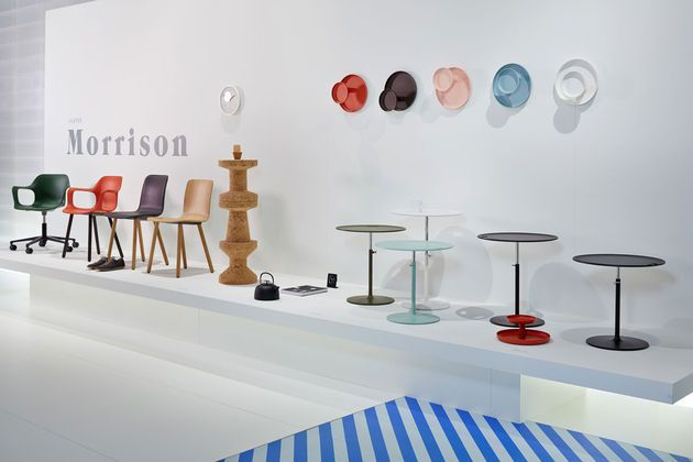Vitra Morrison collection at Salone Internationale del Mobile 2014