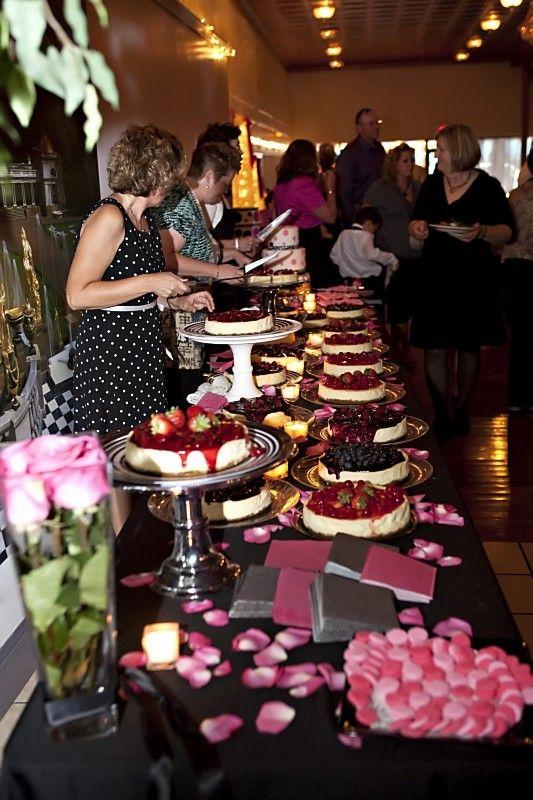 17 best ideas about Cheesecake Wedding Cake on Pinterest Wedding