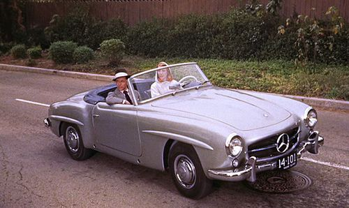 1950s mercedes convertible high society pinterest cars high society and the movie. Black Bedroom Furniture Sets. Home Design Ideas